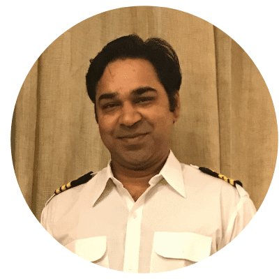Abhishek Bhanawat, Master Mariner